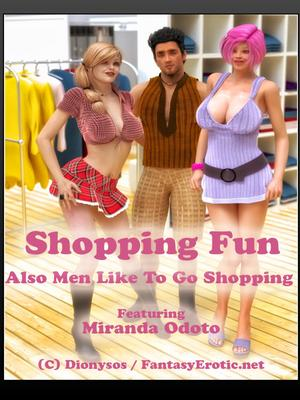 3D Porn Comics FantasyErotic- Shopping Fun Porn Comic 01