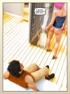 3D Porn Comics FantasyErotic- Shopping Fun Porn Comic 12