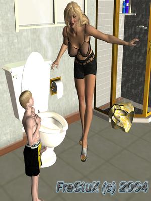 3D Porn Comics Fractux- Fun In The Bathroom Porn Comic 04
