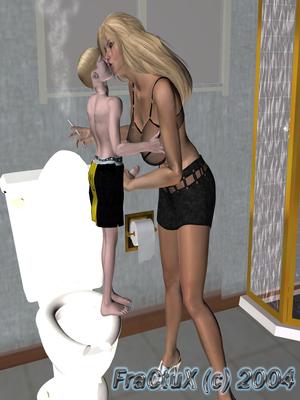 3D Porn Comics Fractux- Fun In The Bathroom Porn Comic 06