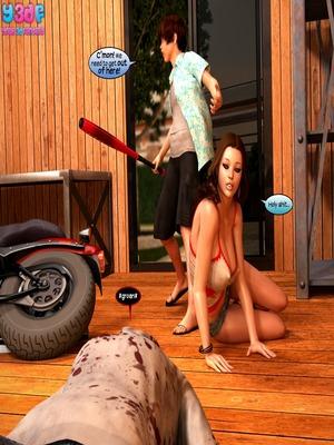 Y3DF Comics Fucking Dead 3- Y3DF Porn Comic 20