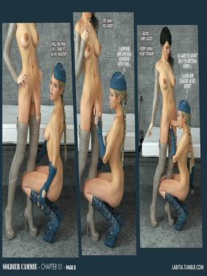 3D Porn Comics Futanari- Soldier Cammie Porn Comic 09