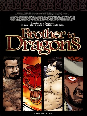 Garcia- Brother to Dragons free Porn Comic