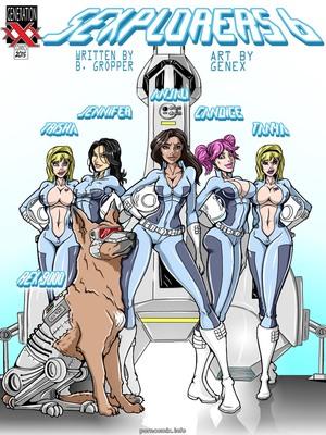 Adult Comics Genex – Sexplorers 6 Porn Comic 01