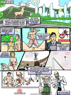 Adult Comics Genex – Sexplorers 6 Porn Comic 02