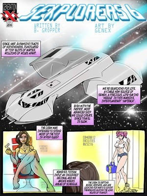 Adult Comics Genex – Sexplorers 6 Porn Comic 22