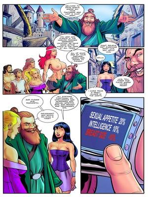Adult Comics Giantess Club- Grow World Porn Comic 04