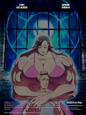Giantess Fan- Goddess of The Trinity Moon 2 free Porn Comic sex 02