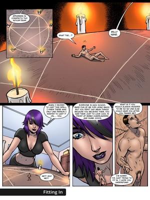 Giantess Fan- Goddess of The Trinity Moon 2 free Porn Comic sex 19