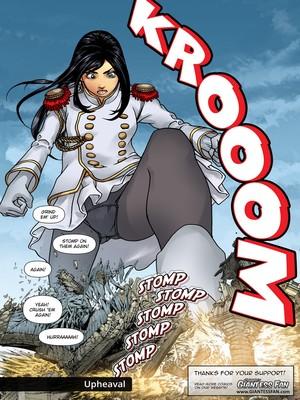 Giantess Fan- Goddess of The Trinity Moon 2 free Porn Comic sex 22