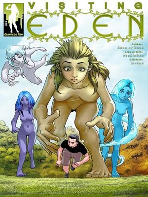 Porn Comics - Giantness Fan- Visiting Eden free Porn Comic