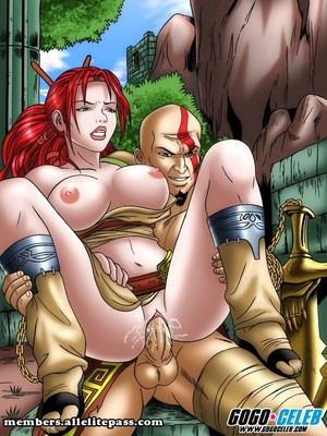 Porn Comics - God of War- Heavenly Sword free Porn Comic