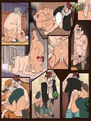 Adult Comics Gravity Falls- Stoos Porn Comic 01