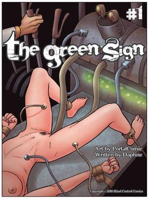 Porn Comics - XXX – Green Sign 01- Mind Control Porn Comic