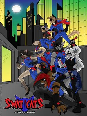 Porn Comics - Hanna Barbera- Swat Kats Nove Squardon free Porn Comic