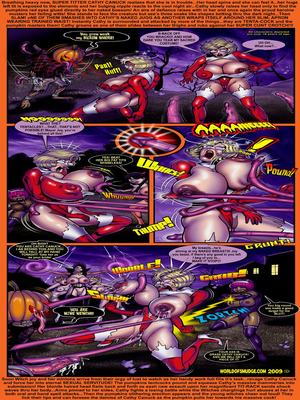 Interracial Comics Haunted House Party- Smudge Porn Comic 06