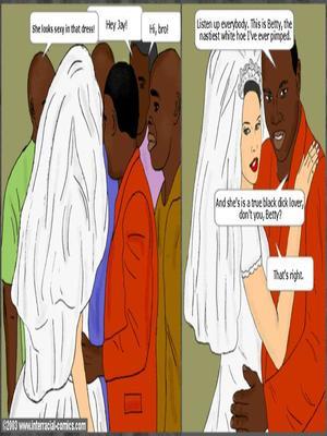 Interracial : Her Wedding Day- Interracial Porn Comic sex 03