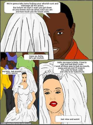 Interracial : Her Wedding Day- Interracial Porn Comic sex 04