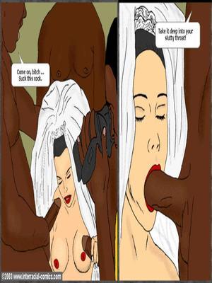 Interracial : Her Wedding Day- Interracial Porn Comic sex 06