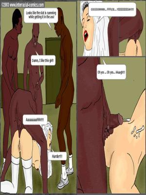 Interracial : Her Wedding Day- Interracial Porn Comic sex 21