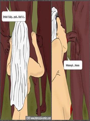 Interracial : Her Wedding Day- Interracial Porn Comic sex 22