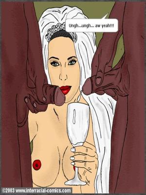 Interracial : Her Wedding Day- Interracial Porn Comic sex 24