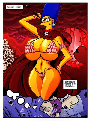 Incest Comics Hexamous- Return of Large Marge- Simpsincest Porn Comic 07