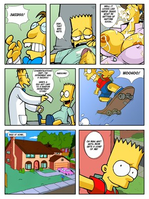 Incest Comics Hexamous- Return of Large Marge- Simpsincest Porn Comic 16