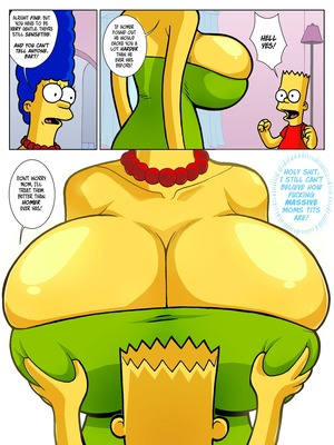 Incest Comics Hexamous- Return of Large Marge- Simpsincest Porn Comic 22