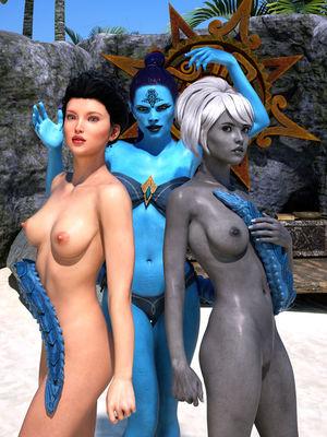 Porn Comics - Hibbli3D- Beach Day 7 free Porn Comic