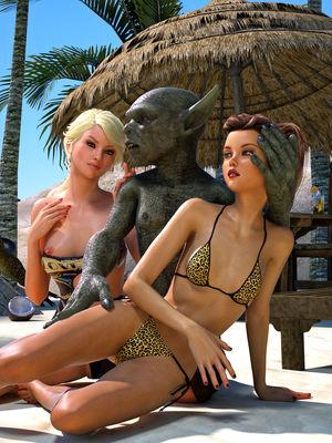 3D Porn Comics Hibbli3d- Beach Day Part 2 Porn Comic 05