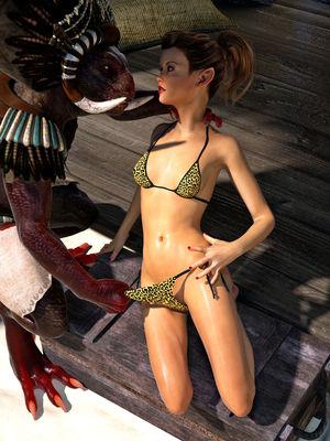 3D Porn Comics Hibbli3d- Beach Day Part 2 Porn Comic 14