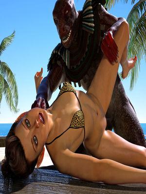 3D Porn Comics Hibbli3d- Beach Day Part 2 Porn Comic 25