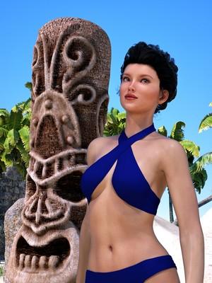 Hibbli3D- Sorceress Lori- Beach Day Part 3 free Porn Comic sex 03