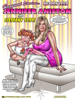Interracial Comics Hollywood Big Dick Celeb- Smudge Porn Comic 01
