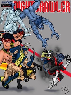Porn Comics - Iceman Blue- Nightcrawler free Porn Comic