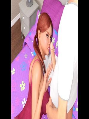 3D Porn Comics Icstor-Incest story – Sister Porn Comic 76