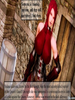 3D : Illusion- Dark Knights Porn Comic thumbnail 001