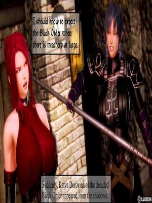 3D : Illusion- Dark Knights Porn Comic sex 02