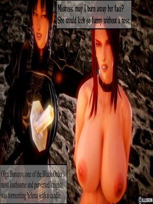 3D : Illusion- Dark Knights Porn Comic sex 10