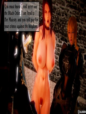 3D Porn Comics Illusion- Dark Knights Porn Comic 12
