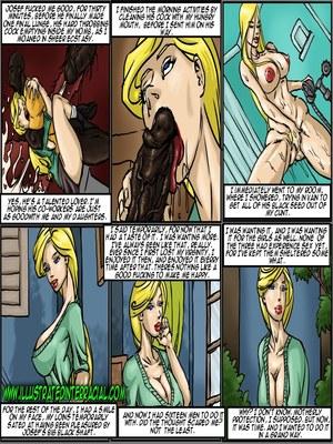 Interracial : illustrated interracial- Adoption of My Daughters Porn Comic sex 10