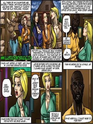 Interracial : illustrated interracial- Adoption of My Daughters Porn Comic sex 11