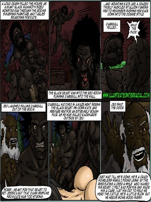 Interracial : Illustrated interracial- Farm girl Porn Comic sex 100