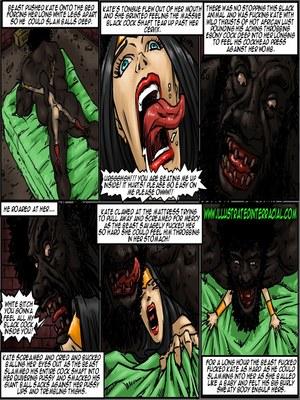 Interracial : Illustrated interracial- Farm girl Porn Comic sex 102