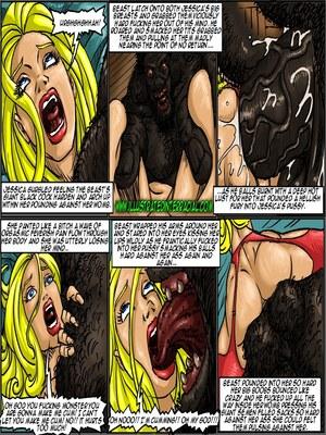 Interracial : Illustrated interracial- Farm girl Porn Comic sex 108