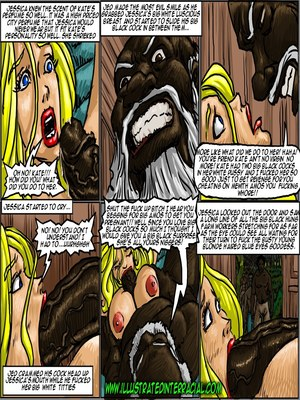 Interracial Comics Illustrated interracial- Farm girl Porn Comic 111
