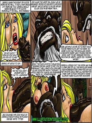 Interracial : Illustrated interracial- Farm girl Porn Comic sex 111