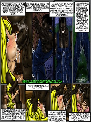 Interracial Comics Illustrated interracial- Farm girl Porn Comic 14