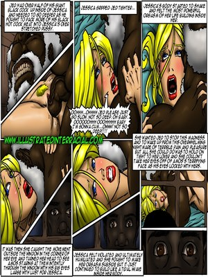 Interracial : Illustrated interracial- Farm girl Porn Comic sex 28